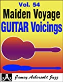 img - for Vol. 54 Maiden Voyage Guitar Voicings (Play- a-Long) book / textbook / text book