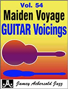Vol. 54 Maiden Voyage Guitar Voicings (Play- a-Long): Mike Diliddo
