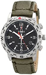 Timex Men's T2P286 Intelligent Quartz Adventure Series Stainless Steel Watch with Nylon Band