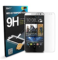 MTT® NEO G5 HTC 816 DESIRE Highest Quality Premium Tempered Anti-Scratch Bubble-free Reduce Fingerprint No Rainbow Washable Screen Protector LAUNCH OFFER (60% OFF)