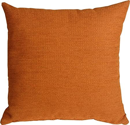 Amazon: Pillow Dcor, Arizona Chenille Orange Pillow