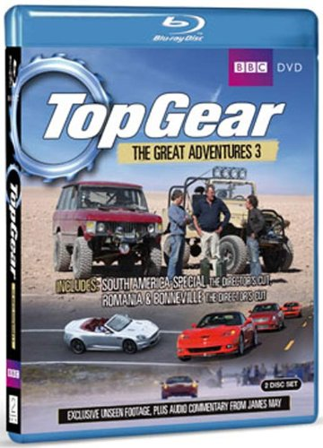 Top Gear - The Great Adventures 3 [Blu-ray][Region Free]