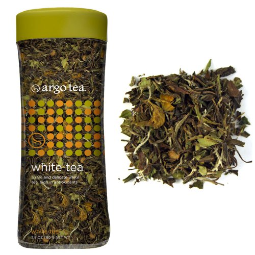 White Loose Leaf Tea - 2.8Oz