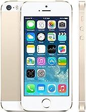 Apple Iphone 5S Smartphone débloqué 4G (Ecran: 4 pouces - 16 Go - Débloqué - iOS) Or (Reconditionné Certifié Grade A+)