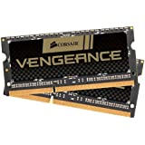 Corsair CMSX8GX3M2B1600C9 Vengeance 8GB (2x4GB) DDR3 1600Mhz CL9 Enthusiast SODIMM Notebook Memory Kit