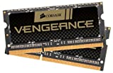 Corsair Vengeance 8 GB (2x4GB) DDR3 1866MHz PC3 204 Pin 15000 SODIMM Laptop Memory CMSX8GX3M2A1866C10