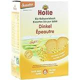 Holle Organic Snacks - Spelt Baby Rusks - Single Pack, 200g