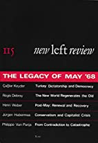 New Left Review #115 The Legacy of May…