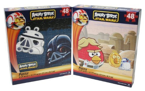 Angry Birds Star Wars Puzzle Set *Both Puzzles* by Cardinal