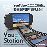 PSP用動画転送ソフト『You=Station』(PCソフト、対応OS:Windows XP/Vista)
