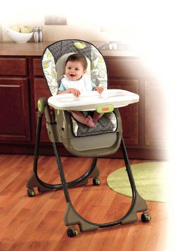 Seggiolone Sediolone per Bambini 3 in 1 Home e Away High Chair Fisher Price Sedia Auto Casa Poltrona