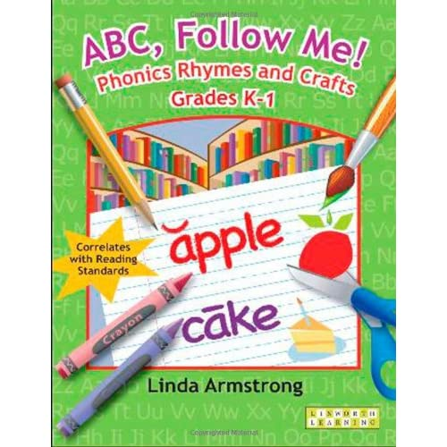 ABC-Follow-Me-Phonics-Rhymes-and-Crafts-Grades-K-1-Armstrong-Linda