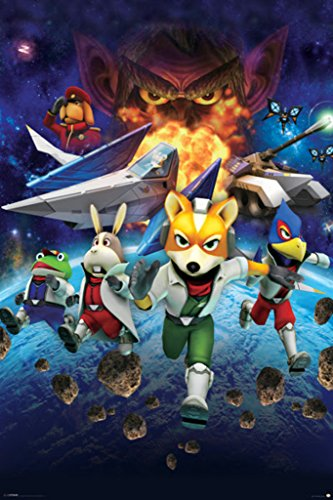 CGC Huge Poster - Star Fox - Nintendo 64 GameCube Wii U DS - STA001 (24