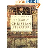 Dictionary of Early Christian Literature (A Herder & Herder book)