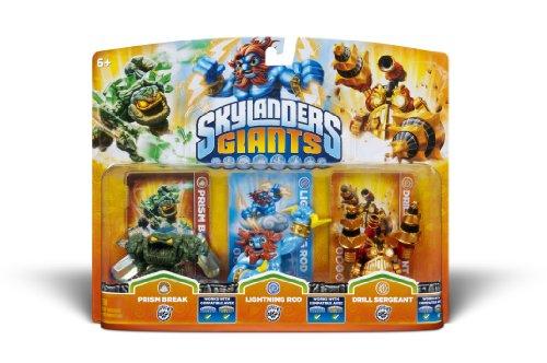 Activision Skylanders Giants Triple Pack #5 (Prism Break, Lightning Rod & Drill Sergeant) - 1
