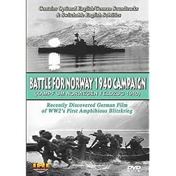 Battle For Norway 1940 Campaign (Kampf Um Norwegen: Feldzug 1940) DVD