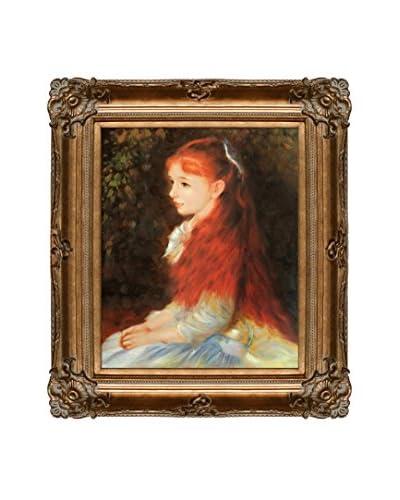 """Pierre-Auguste Renoir """"Irene Cahen D'Anvers"""" Oil Painting"""