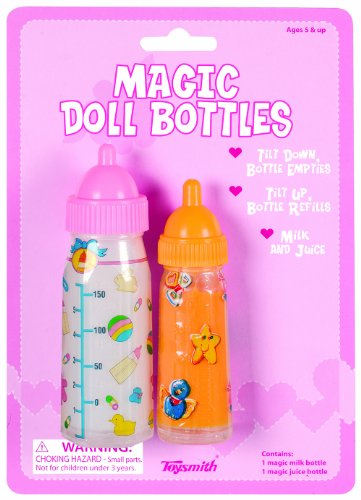 BABYDOLL Magic DOLL Bottles SET Of Two MILK &