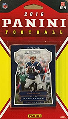 New England Patriots 2016 Panini Factory Sealed Team Set with Tom Brady, Rob Gronkowski, Rookie cards of Brissett, Mitchell plus