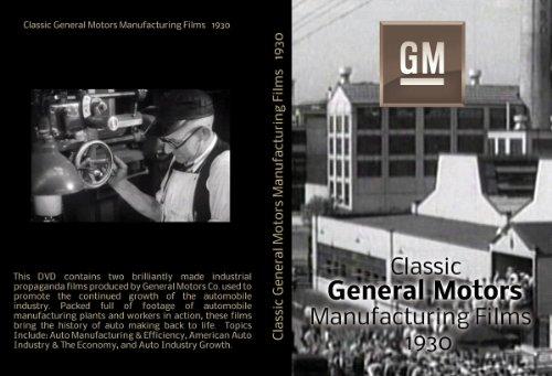 Classic General Motors Manufacturing Films (1930s)