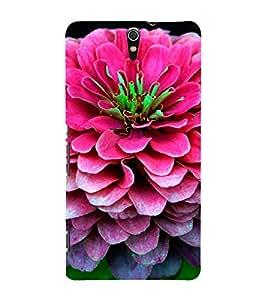 EPICCASE Big pink flower Mobile Back Case Cover For Sony Xperia C5 Ultra Dual (Designer Case)