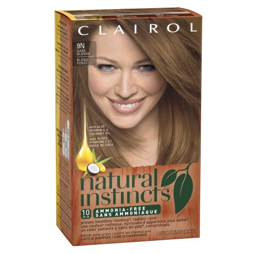 Clairol Natural Instincts 9N Coastal Dune Dark Blonde 1 Kit (Pack Of 3) front-432041