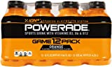 POWERADE Orange, 12 ct, 12 FL OZ Bottle