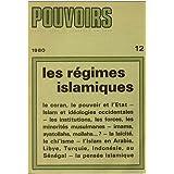 Les régimes islamiques.