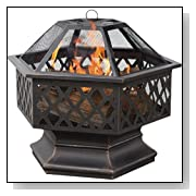 Portable Outdoor Wood Burning Fire Bowl