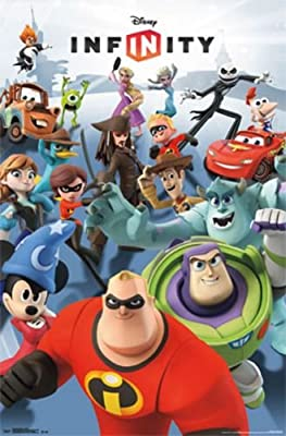 Trends Intl. Disney Infinity Figures Poster, 22-Inch by 34-Inch