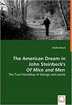How does Steinbeck present the character of George in Steinbeck's Of Mice and Men?