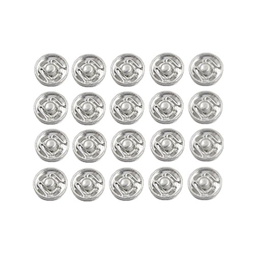 20 Pcs Metal Coat Clothes Sewing Invisible Clip Buttons (Buttons For Clothes compare prices)