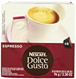 Nescaf Dolce Gusto for Nescaf Dolce Gusto Brewers, Espresso, 16 Count (Pack of 3)
