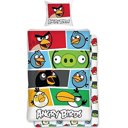 Parure de lit Angry Birds housse de couette coton