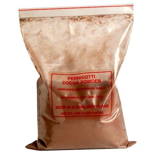 (3) 1 Kilo Bags Of Dutch Processed Pernigotti Cocoa Powder From Italy