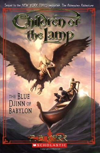 Cover of Blue Djinn of Babylon (Children of the Lamp (Paperback))