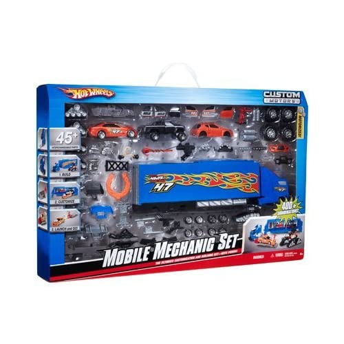 Amazon.com: Hot Wheels Custom Motors Mobile Mechanic Set