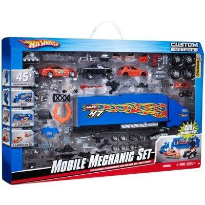 Hot Wheels Custom Motors Mobile Mechanic Set
