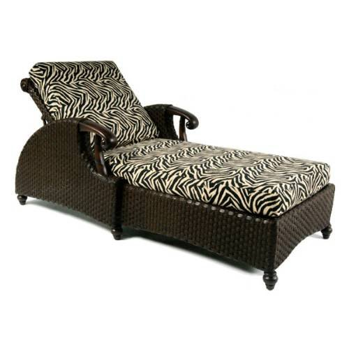 Chaise lounge cushion for Boca chaise pillow