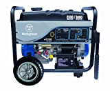 Westinghouse WH6500E Portable Generator, 6500 Running Watts/8000 Starting Watts