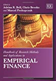 img - for Handbook of Research Methods and Applications in Empirical Finance (Handbooks of Research Methods and Applications series) (Elgar Original reference) book / textbook / text book