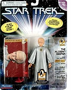 "The Talosian Keeper Action Figure From the Original Star Trek TV Series Pilot Episode ""The Cage"""