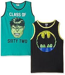 Kidsville Boys' T-Shirt (BM1KB08_Multi_11 - 12 years) (COMBO T-shirt's)