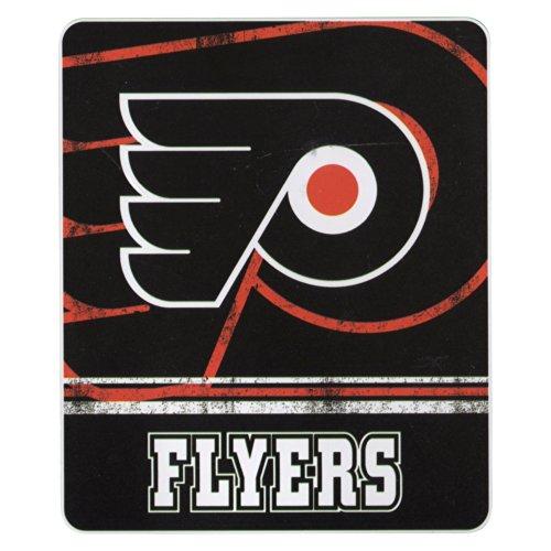 "Nhl ""Vintage Fade"" Team Logo Fleece Throw Blanket (Philadelphia Flyers, 50"" X 60"") front-502128"
