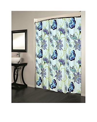 Beatrice Home Fashions Ava Maria Shower Curtain, Multi