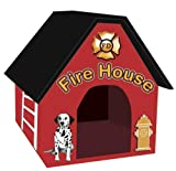Pet Store Fire House Dog House