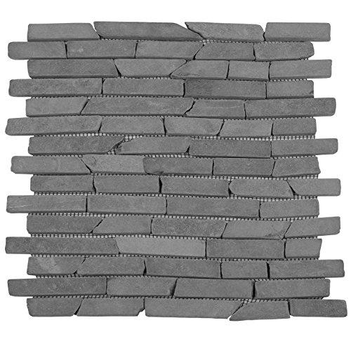 divero-11-matten-30-x-30cm-marmor-naturstein-mosaik-stabchen-mosaik-fliesen-fur-wand-boden-grau