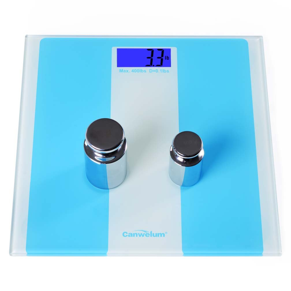 Canwelum Smart Precision Electronic Glass Bathroom Scale