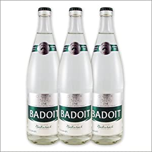 French Sparkling Water - Badoit - 750ml-Glass - The Set of 3 Bottles