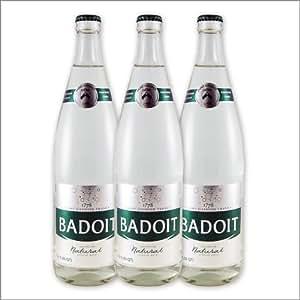 French Sparkling Water - Badoit - 750ml-Glass - The Set of 3 Bottles
